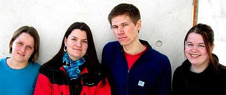 Eksperter I Team: Jorunn Mittet Eriksen (t.v), Linda Melissa Aukan, Asbjørn Aas og Lene Kristin Brevik Bjermeland.
