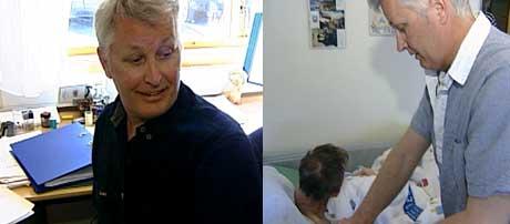 Morten Asplund er fagansvarlig ved Råde sykehjem ( Foto: Ingrid M. Langvik, NRK )