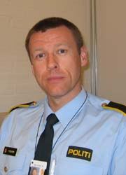 Politiførstebetjent i Drammens-politiet, Bjørn Furuheim.
