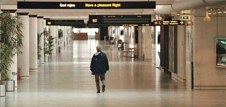 ØKER AVGIFTENE: Trusselen om å øke transferavgiftene på Kastrup, har fått SAS-ledelsen i flyttehumør. Foto: Scanpix.