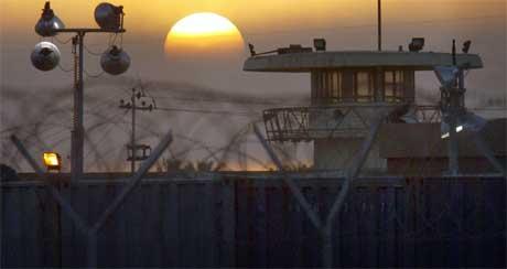 Det beryktede Abu Ghraib-fengselet. (Foto: Scanpix)