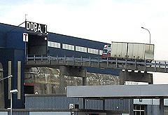 Dora brukes i dag som lagerhall, by- og statsarkiv, bowlinghall og mye mer. Foto: Per Kristian Johansen, NRK