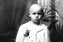 Karol Wojtyla som liten gutt. Foto: REUTERS