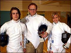 Aleksandr Tarkovskij, Olav Viksmo Slettan og Mariella Fossum (Foto: Petter Olden)