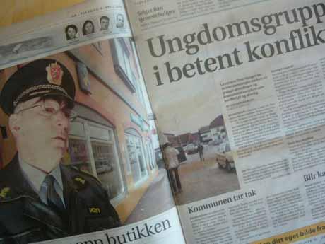 Det er ikke første gang det er bråk mellom utenlandsk og etnisk norsk ungdom i Brumunddal.