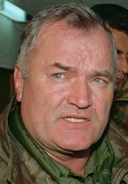 Ratko Mladic. (Arkivfoto: AFP/scanpix)