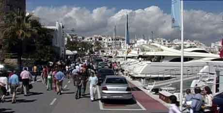 Det er her på Spanias solkyst at David Aleksander Toska har oppholdt seg den senere tid. Foto: NRK