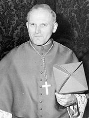 Kardinal Karol Wojtyla i 1968. Foto: AP Photo