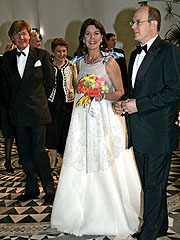 Prinsesse Caroline og hennes nåværende mann, Prins Ernst-August. Foto: AFP Photo