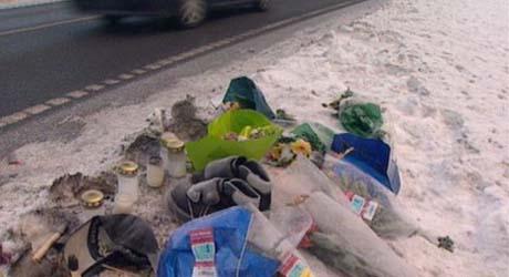 Mange mennesker har omkommet på E 134. Foto: Harald Inderhaug, NRK.