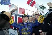 Seier i fjor Solverg vant Rally New Zealand 2004