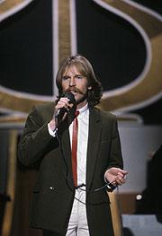 Olav Stedje fikk Spellemannprisen 1982 for årets pop-plate. Foto: Erik Thorberg / NTB / SCANPIX