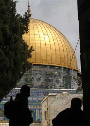 Al-Aqsa-moskeen (Foto: Scanpix / AFP)