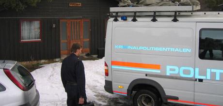 Politiet har fått bistand fra Nye Kripos i etterforskningen. Foto: NRK.