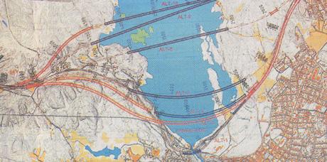 Statens vegvesen varsler at det startes opp arbeid med kommunedelplan og konsekvensutredning for E 18 på strekningen mellom Bommestad og Sky i Larvik. Vegvesenet vurderer både bru over Farrisvannet eller tunnell under.