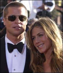 Brad Pitt og Jennifer Aniston (Foto: AP/Scanpix)