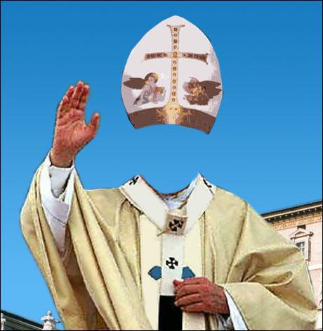 VINNERTEKSTEN: Da Gud slet med akutt plassmangel, kunne han bare ta inn deler av Pave Johannes Paul II. (Vidar Grovassbakk)