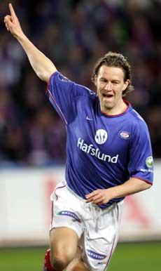 Morten Berre viste veien oppover på tabellen etter Vålerengas seier over Brann. (Foto: Scanpix)