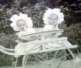 Siri og Gunhild ble født i Malmø i 1905, Foto: NRK