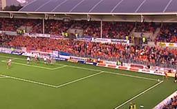 Color Line Stadion i dagslys. Foto: Svein Winther, NRK