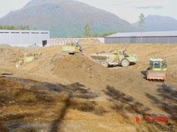 Her skal Lønnheim bygge . Foto:Forsvarsbygg