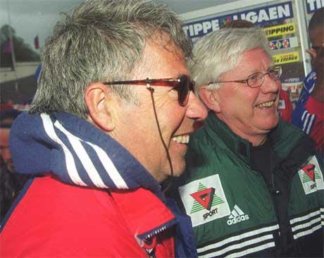 Fra dengang Drillo var trener for VIF, og møtte RBK i Tippeligaen i 1999 ( Foto: Morten Holm SCANPIX. )