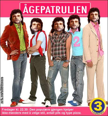Serien som ble en suksess for TV3 på 80-tallet. (Alltid Moro)