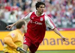 Michael Ballack, Bayern München. (Foto: AP/Scanpix)
