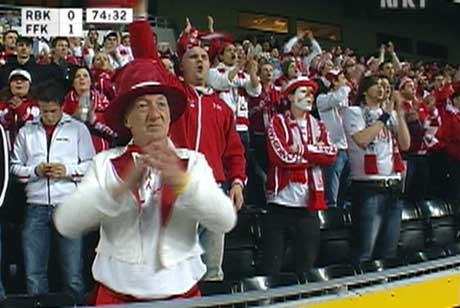 FFK-fansen vil fylle opp store deler av VG-svingen på Ullevaal-stadion 16.mai.