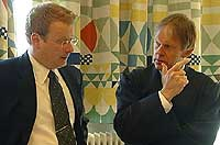 Politijurist Knut Broberg og aktor Bjørn Soknes meiner drapet var seksuelt motivert.
