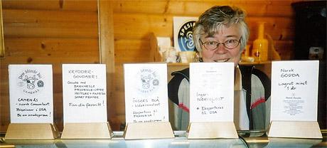 Inger S Rosenfeld har fått internasjonal oppmerksom og heder for sine oster. (Foto: Haakon D Blaauw)
