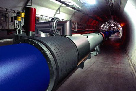 "Slik kommer LHC til å se ut med ny ""innmat"". Ill.: CERN"