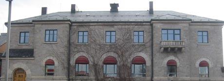 Taksmannen kjørte forbi bygget og satte taksten til 60 millioner kroner. Foto Knut Erik Solhaug, NRK.