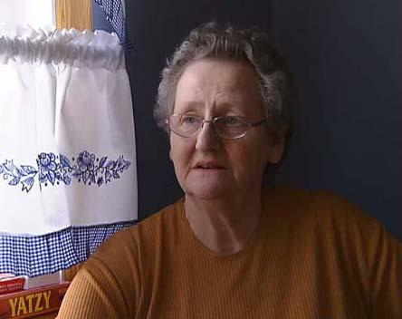Synnøve Bottolfsen har bodd i Hamarhus siden 1947. (Foto: Harald Gundersen/NRK)
