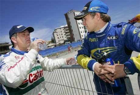 Både Henning og Petter kjører Rally Italia. (Foto: Heiko Junge / SCANPIX)