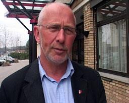 Ordfører Thor Lillehovde i Ringsaker. (Alle foto: Stein Schinstad/NRK)