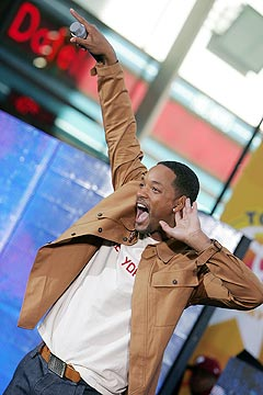 Kommer Will Smith til Mandela-konserten i Tromsø? Foto: Scott Gries, Getty Images / AFP / Scanpix.