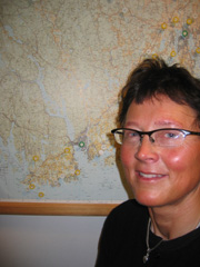 Eva Preede er prosjektleder i Statens Vegvesen. Foto; Rune Jensen, NRK.