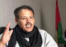Forskningen er uakseptabel, mener Mhamed Khadad, Polisarios FN-koordinator (Foto: NRK)