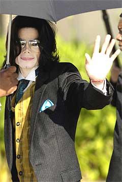 Michael Jackson hadde et forbruk på nærmere 130 millioner kroner i 2000. Foto: Scanpix.
