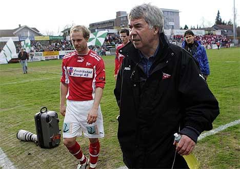 Drillo og FFK fikk med seg et heldig poeng fra Hamar. (Foto: Cornelius Poppe / SCANPIX)