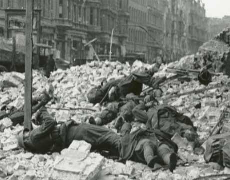Her døde mange norske frontkjempere i Berlin.(Foto:Timofej Melnik)