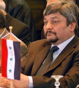 Iraks nye - og gamle - oljeminister, Ibrahim Bahr al-Uloum. (Foto: AP)