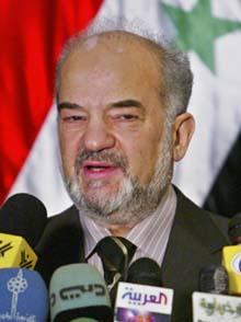 Nå starter kampen mot opprørerne, lovet statsminister Jaafari på dagens pressekonferanse. (Foto: F.Kheiber, AFP)