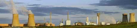 Gjenvinningsanlegget i Sellafield. (Foto: AFP/Scanpix)