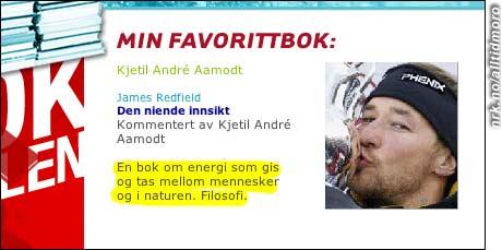 Kjetil André Aamodt er i det filosofiske hjørnet med denne bokbeskrivelsen.