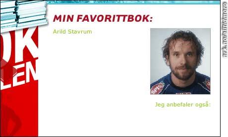 Moldes Arild Stavrum avliver myten om at fotballspillere ikke leser bøker.