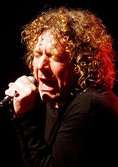 Robert Plant er Mandela-konsertens største artistnavn. Foto: Scanpix.