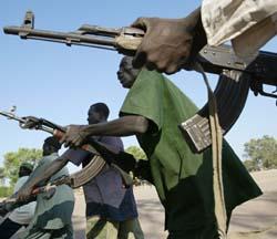 De nye politistyrkene i Sudan har ikke greid å opprette stor grad av tillit. (Arkivfoto: Karel Prinsloo, AP)