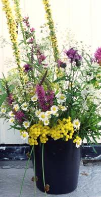 I Feng Shui sier man at det er fornuftig å ha noe i gangen som gir et blikkfang. Hva med noen frisk blomster? Foto: Scanpix
